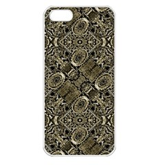 Steam Punk Pattern Print Apple Iphone 5 Seamless Case (white)