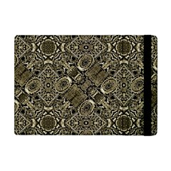 Steam Punk Pattern Print Apple Ipad Mini Flip Case