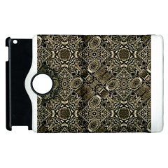 Steam Punk Pattern Print Apple iPad 3/4 Flip 360 Case