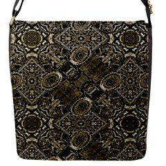 Steam Punk Pattern Print Flap Closure Messenger Bag (small)