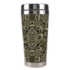 Steam Punk Pattern Print Stainless Steel Travel Tumbler