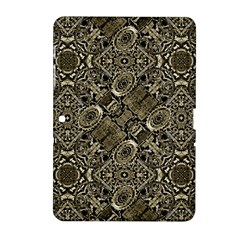 Steam Punk Pattern Print Samsung Galaxy Tab 2 (10.1 ) P5100 Hardshell Case
