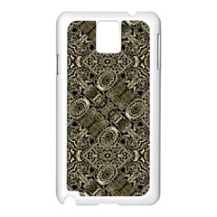 Steam Punk Pattern Print Samsung Galaxy Note 3 N9005 Case (white)
