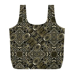 Steam Punk Pattern Print Reusable Bag (L)