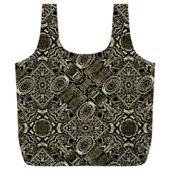 Steam Punk Pattern Print Reusable Bag (XL)