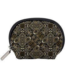 Steam Punk Pattern Print Accessory Pouch (Small)