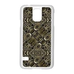 Steam Punk Pattern Print Samsung Galaxy S5 Case (white)