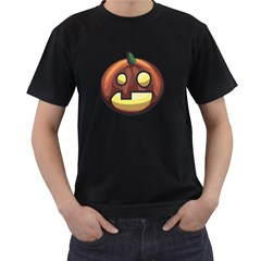 Hallofun Men s Two Sided T-shirt (Black)
