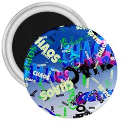 Pure Chaos 3  Button Magnet