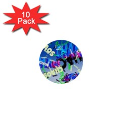 Pure Chaos 1  Mini Button (10 pack)