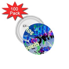 Pure Chaos 1 75  Button (100 Pack)