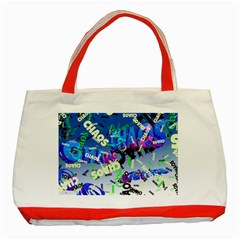 Pure Chaos Classic Tote Bag (Red)