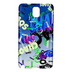 Pure Chaos Samsung Galaxy Note 3 N9005 Hardshell Case