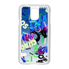 Pure Chaos Samsung Galaxy S5 Case (white)