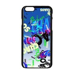 Pure Chaos Apple iPhone 6 Black Enamel Case