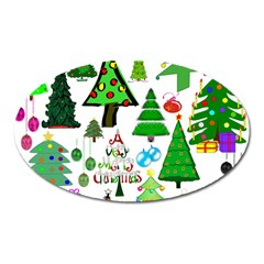 Oh Christmas Tree Magnet (Oval)
