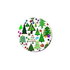 Oh Christmas Tree Golf Ball Marker 4 Pack