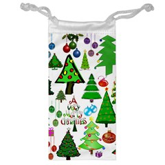 Oh Christmas Tree Jewelry Bag