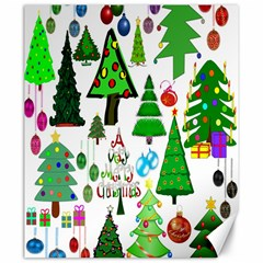 Oh Christmas Tree Canvas 20  X 24  (unframed)
