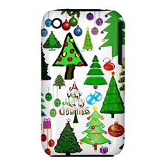 Oh Christmas Tree Apple iPhone 3G/3GS Hardshell Case (PC+Silicone)