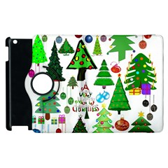 Oh Christmas Tree Apple iPad 2 Flip 360 Case