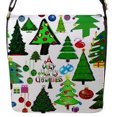 Oh Christmas Tree Flap Closure Messenger Bag (Small)