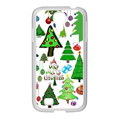 Oh Christmas Tree Samsung Galaxy S4 I9500/ I9505 Case (white)