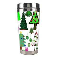 Oh Christmas Tree Stainless Steel Travel Tumbler