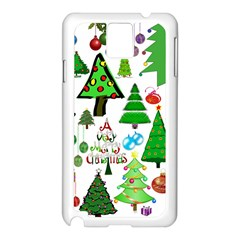 Oh Christmas Tree Samsung Galaxy Note 3 N9005 Case (White)