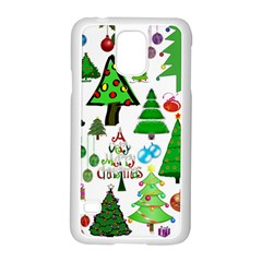 Oh Christmas Tree Samsung Galaxy S5 Case (white)