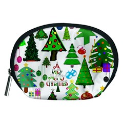 Oh Christmas Tree Accessory Pouch (Medium)