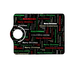 Merry Christmas Typography Art Kindle Fire HD (2013) Flip 360 Case