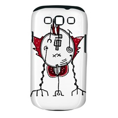 Alien Robot Hand Draw Illustration Samsung Galaxy S III Classic Hardshell Case (PC+Silicone)