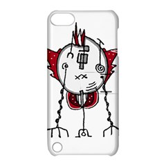 Alien Robot Hand Draw Illustration Apple Ipod Touch 5 Hardshell Case With Stand