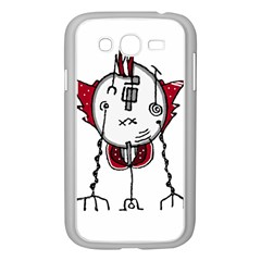 Alien Robot Hand Draw Illustration Samsung Galaxy Grand Duos I9082 Case (white)