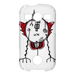 Alien Robot Hand Draw Illustration Samsung Galaxy S7710 Xcover 2 Hardshell Case