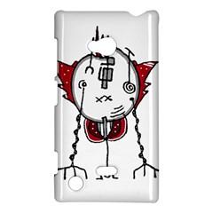 Alien Robot Hand Draw Illustration Nokia Lumia 720 Hardshell Case