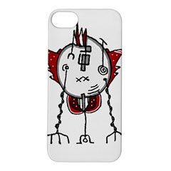 Alien Robot Hand Draw Illustration Apple Iphone 5s Hardshell Case