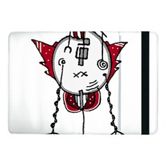 Alien Robot Hand Draw Illustration Samsung Galaxy Tab Pro 10.1  Flip Case