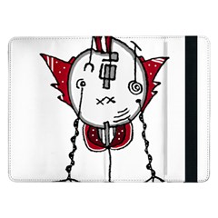 Alien Robot Hand Draw Illustration Samsung Galaxy Tab Pro 12.2  Flip Case