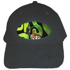 Grass Snake Black Baseball Cap