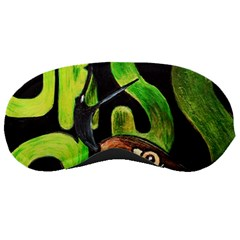 Grass Snake Sleeping Mask