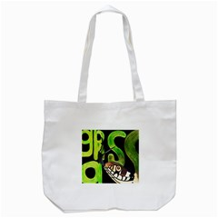 GRASS SNAKE Tote Bag (White)