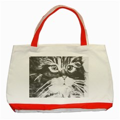 KITTEN Classic Tote Bag (Red)