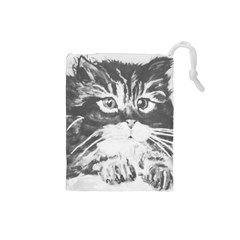 KITTEN BAG Drawstring Pouch (Small)