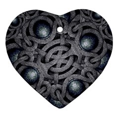 Mystic Arabesque Heart Ornament