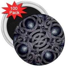 Mystic Arabesque 3  Button Magnet (100 pack)