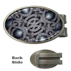 Mystic Arabesque Money Clip (Oval)