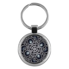 Mystic Arabesque Key Chain (round)