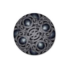 Mystic Arabesque Magnet 3  (round)